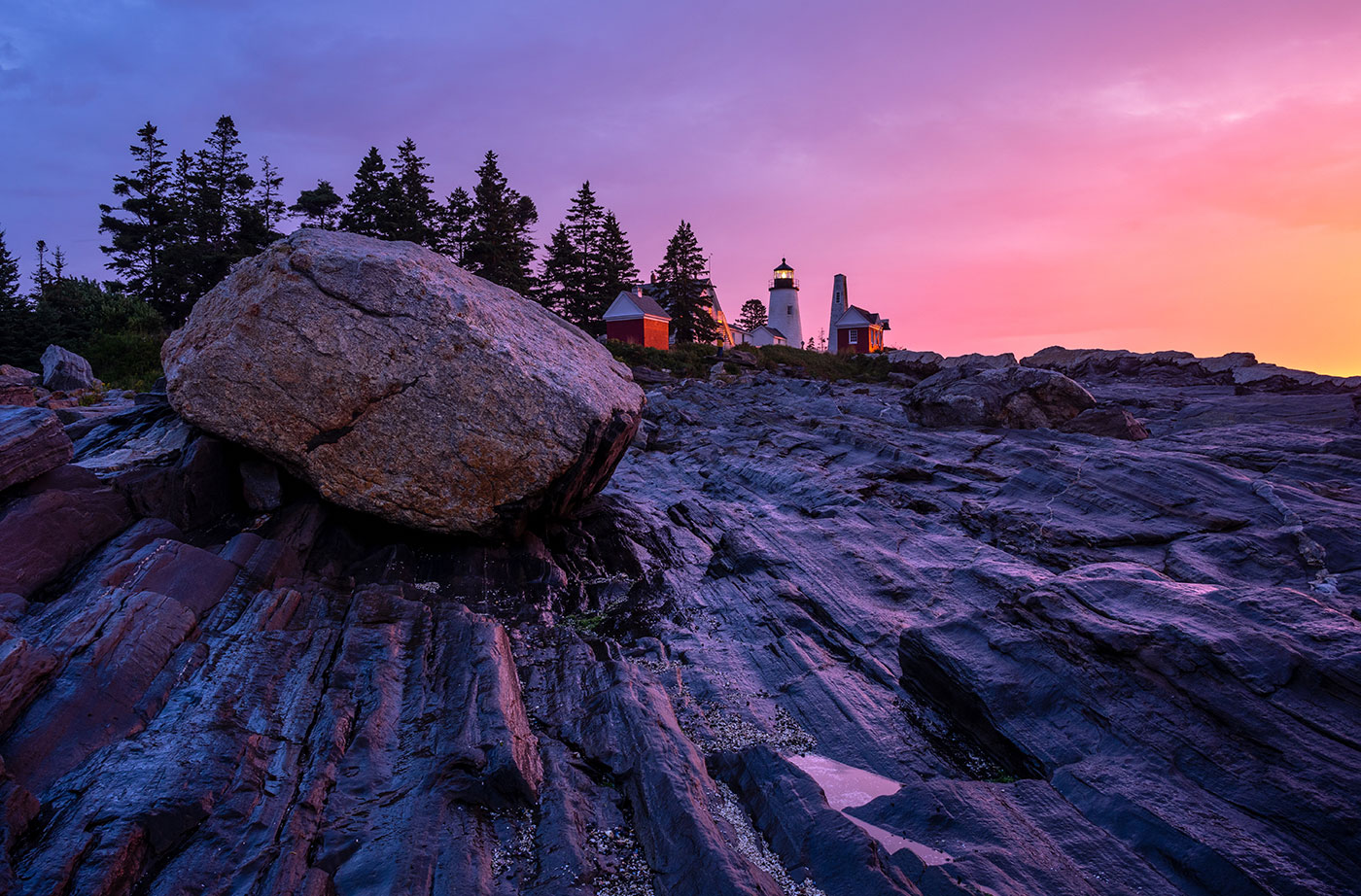 Daybreak over Pemaquid