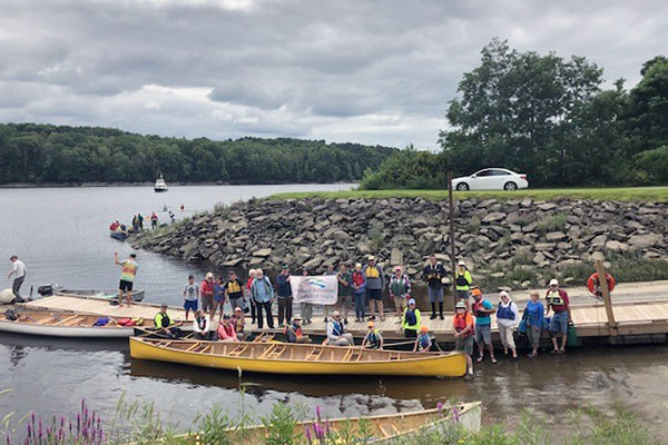 Penobscot Paddle group