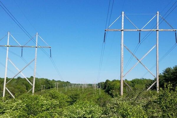 CMP transmission line corridor