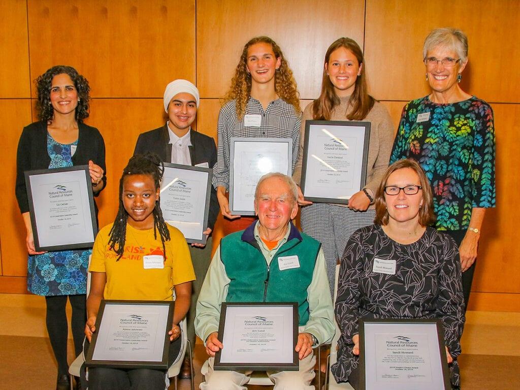 2019 Conservation Leadership Award winners