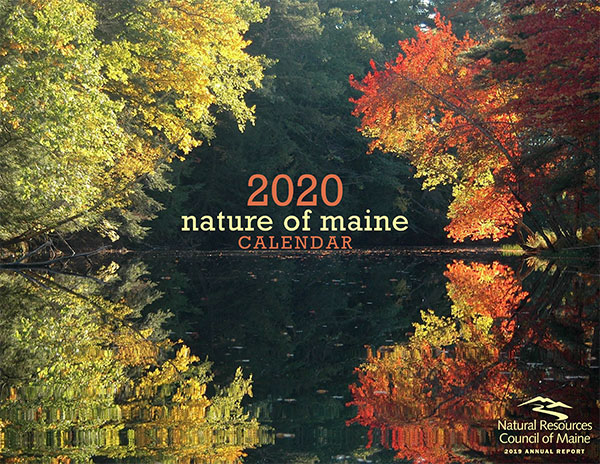 2020 Nature of Maine calendar