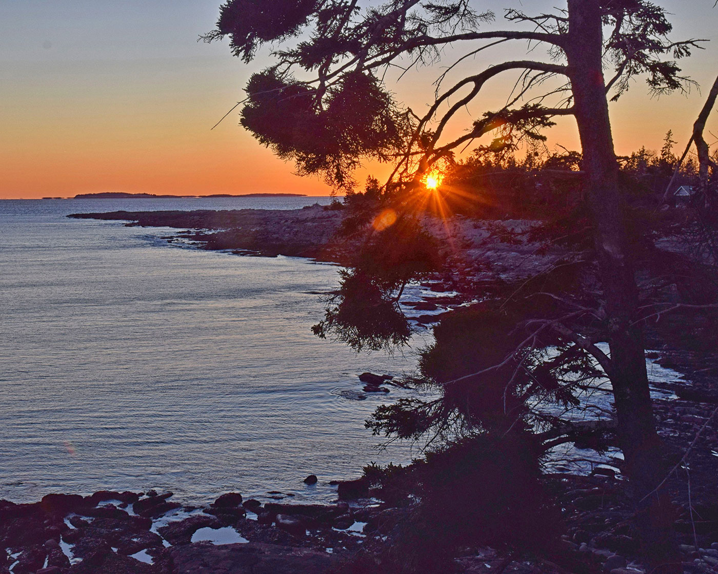 Sunset Pemaquid Point Dan Ker