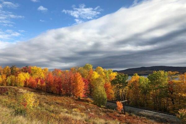 Moosehead Lake fall foliage