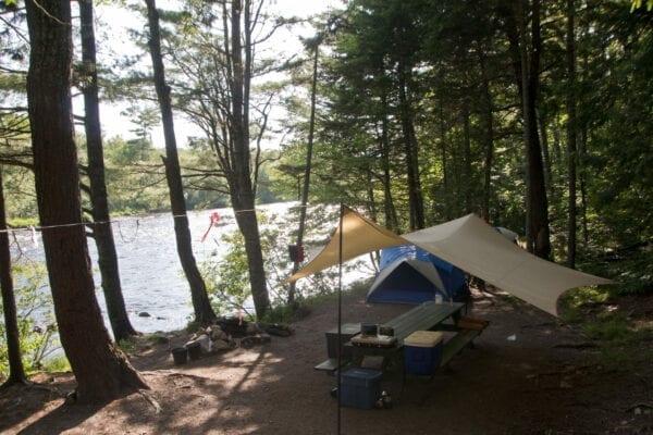 Big Eddy campground