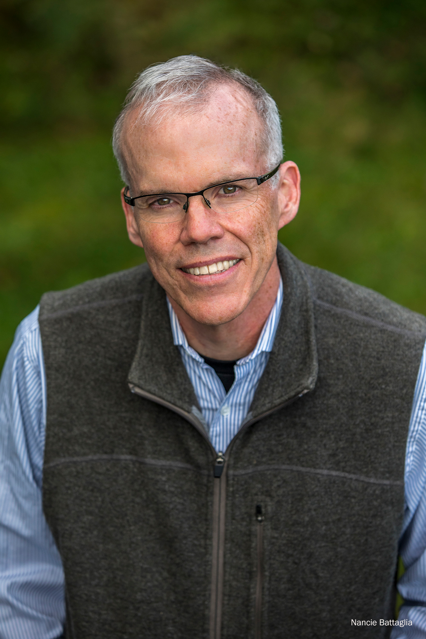 Bill McKibben photo by Nancie Battaglia