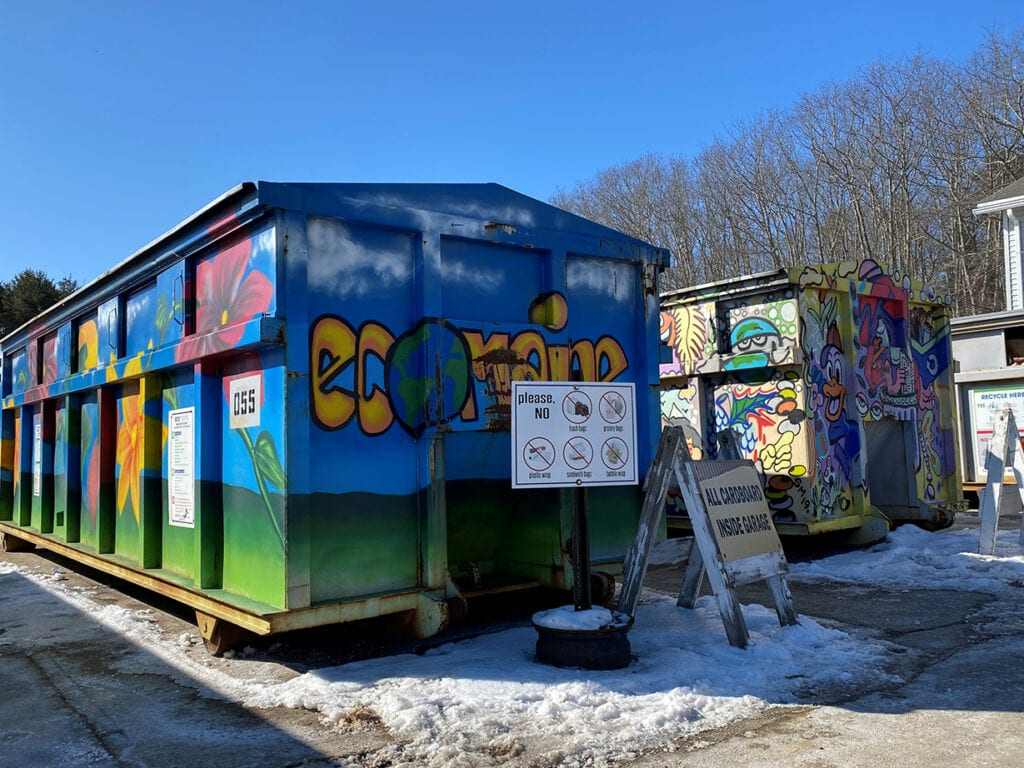 ecomaine recycling