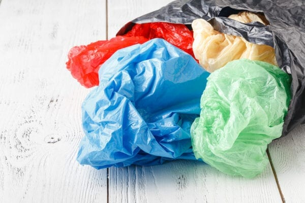 plastic bags in bigger bag
