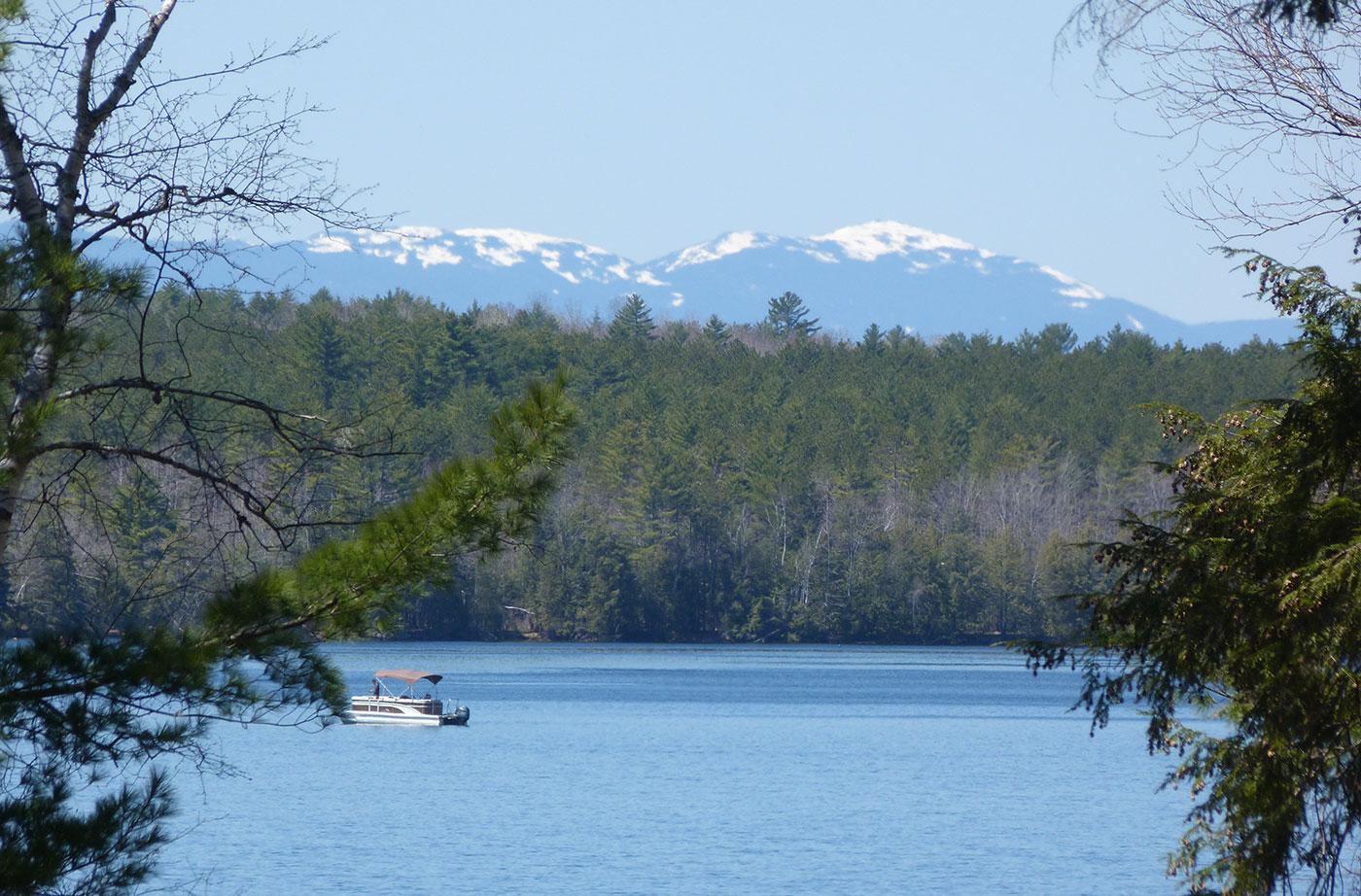 Wesserunsett Lake by Richard Flanagan