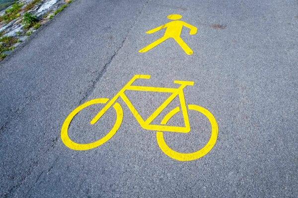 bike and pedestrian crossing