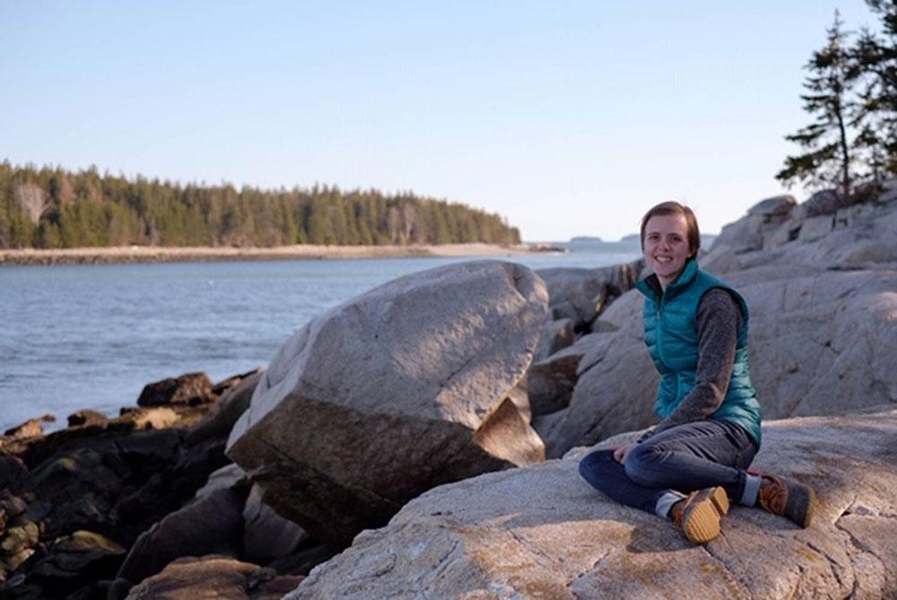 Sarah Cotton at Ash Point Preserve