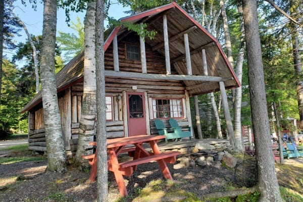 A cabin at The Birches