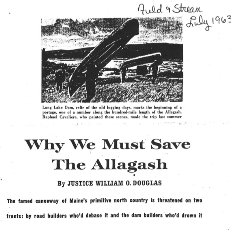 Why we must save the Allagash
