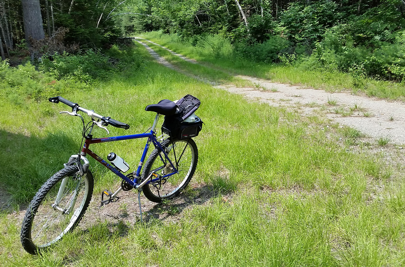 bicycle at KWW national monument