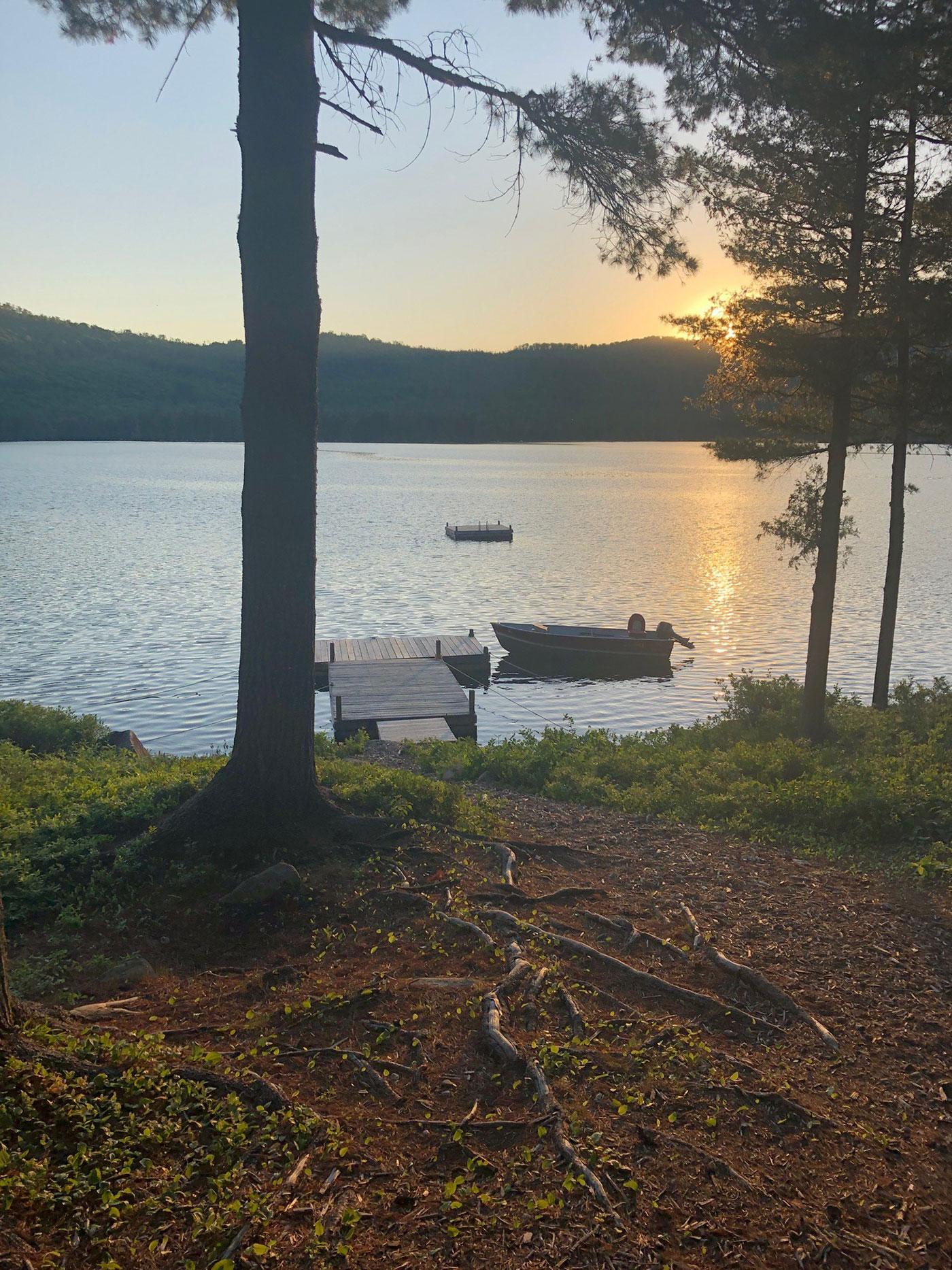 View at Chandler Lake Camps