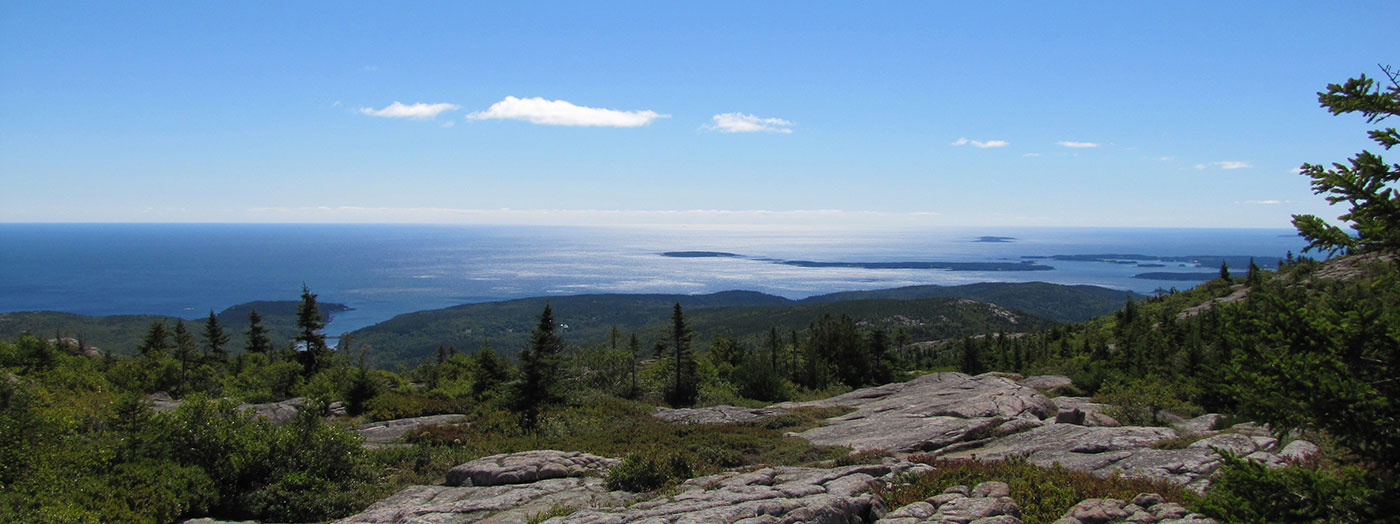View from Cadillac Mountain, Acadia National Park, by Jayne Winters