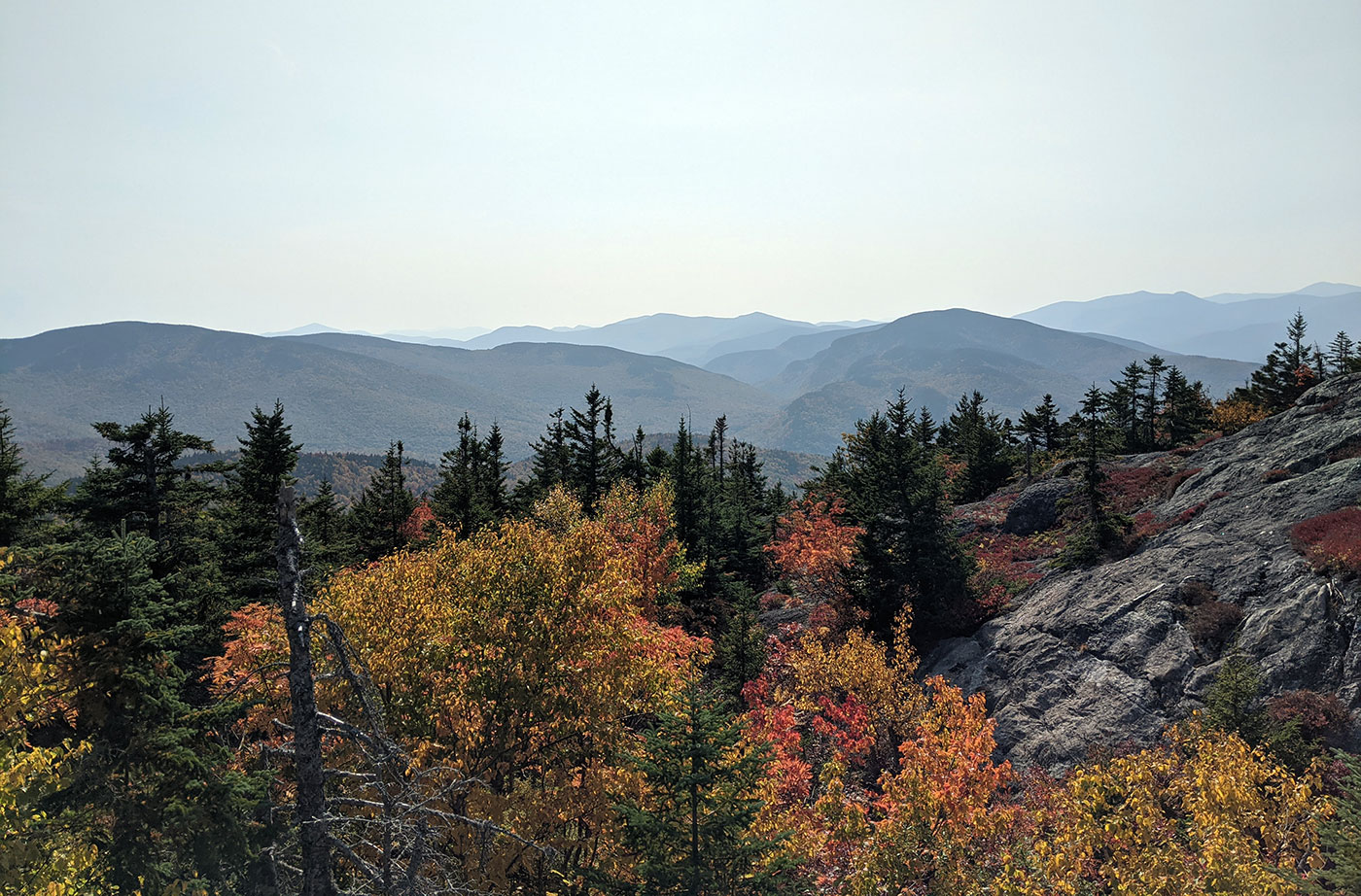 View from top of Caribou Mountain