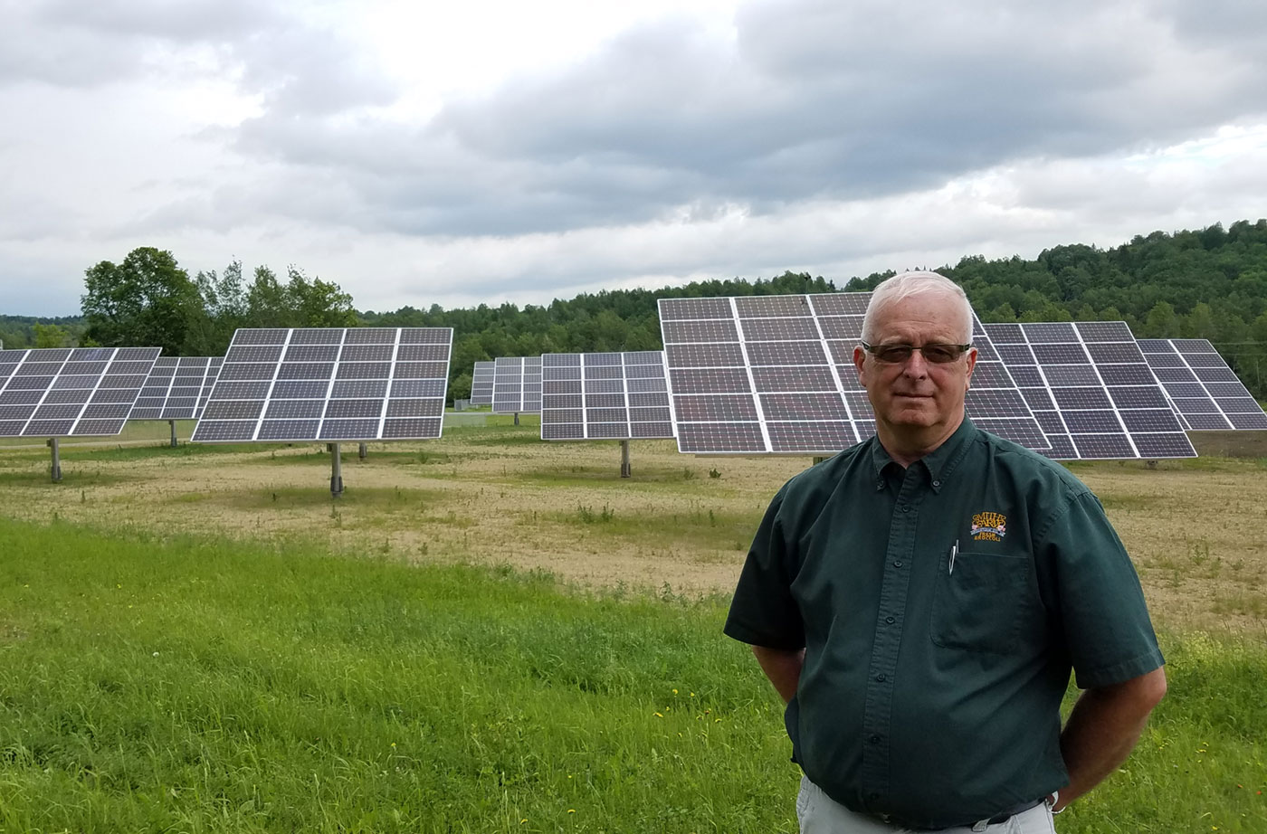solar farm in Aroostook County