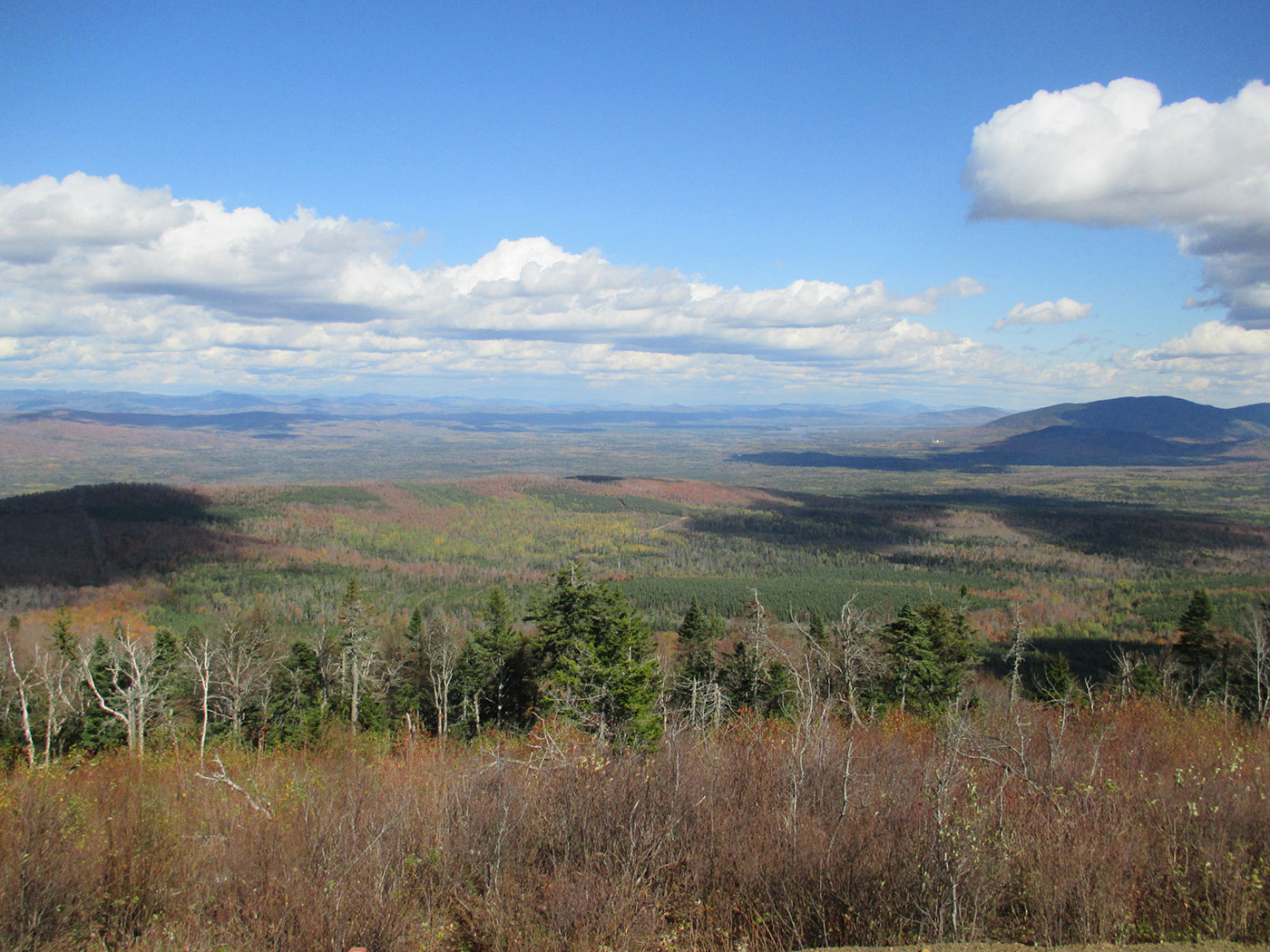 Rangeley fall colors