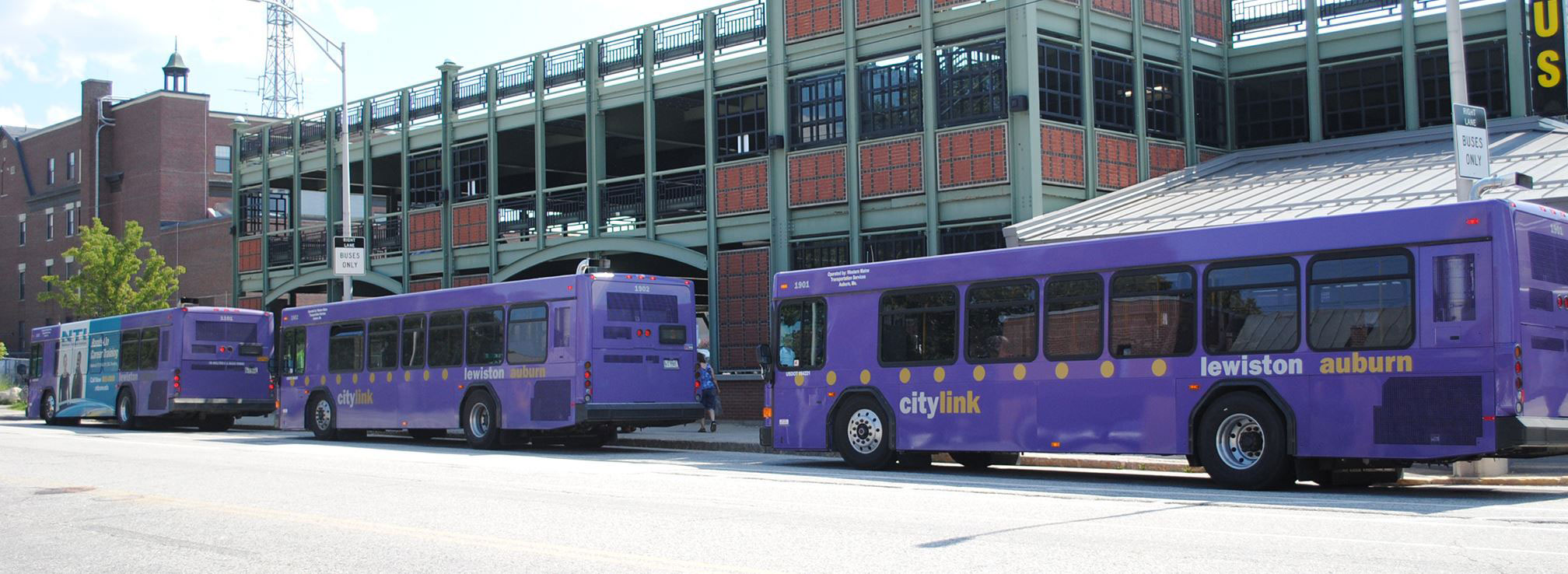 Buses in Lewiston-Auburn