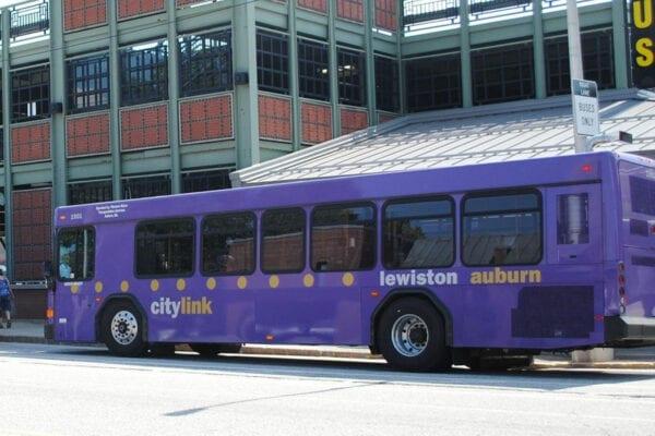 Lewiston-Auburn public buses
