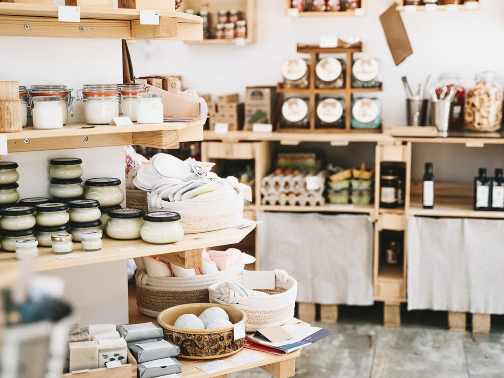 store of ecofriendly products & packaging
