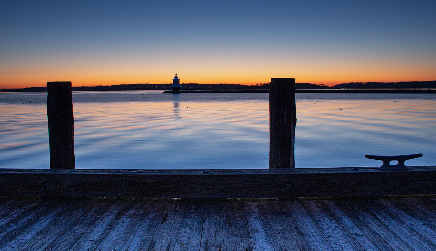 Spring Point Light by Tom Gilley