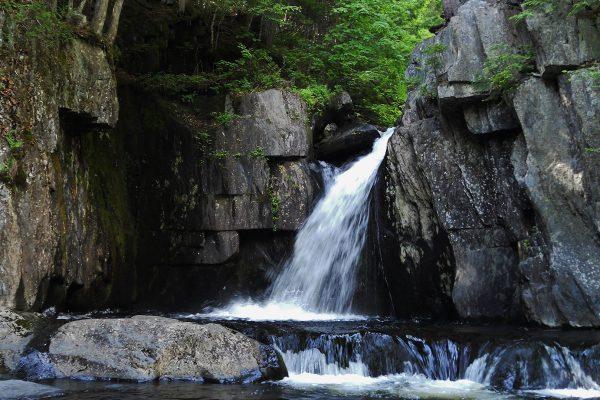 Gulf Hagas waterfall