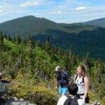 Hiking Mount Abraham
