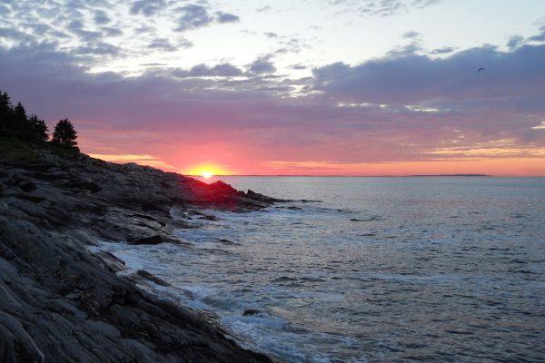 sunrise at Pemaquid