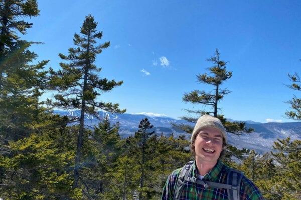 Josh atop Puzzle Mountain