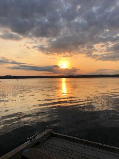 sunset in Auburn