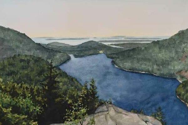 artwork of Acadia