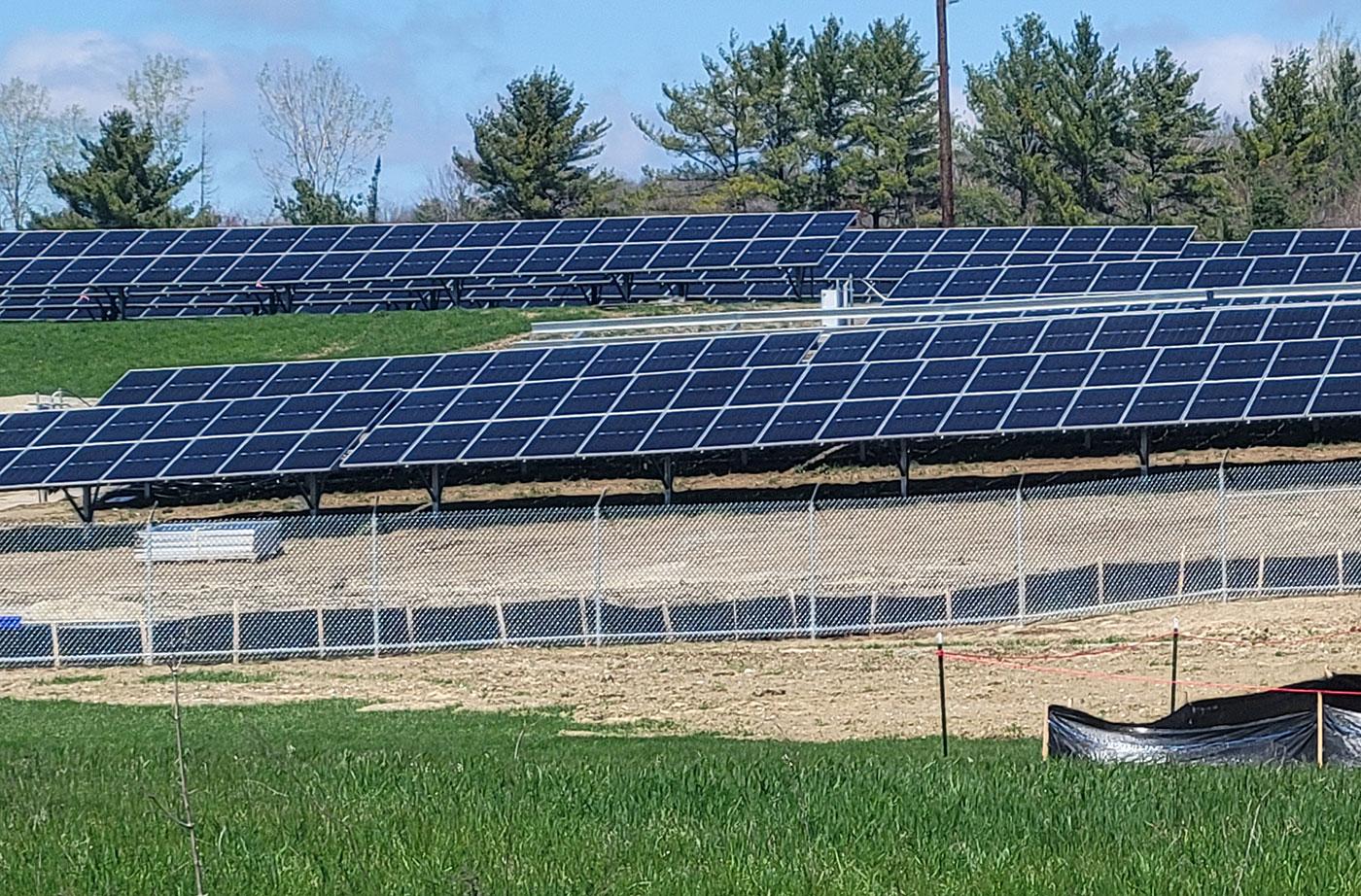farmington solar array