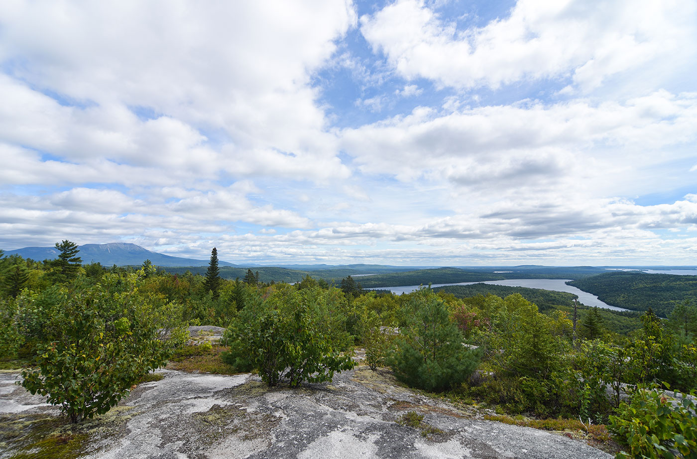 Viewpoint on the Debsconeag Backcountry Trail