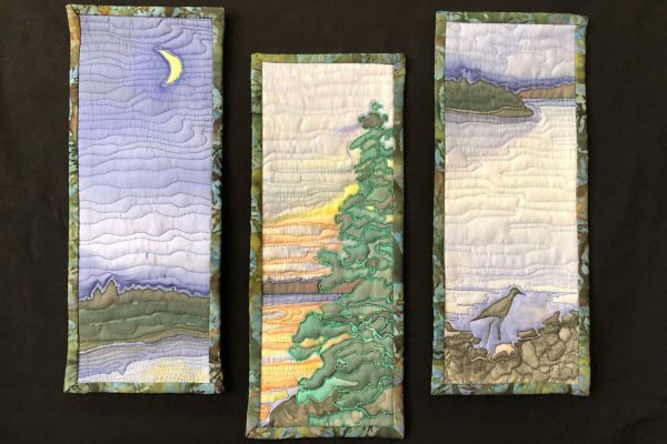 quilted art pieces