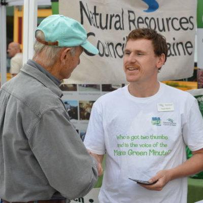 NRCM's Todd Martin at Greenfest