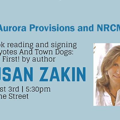 Susan Zakin event