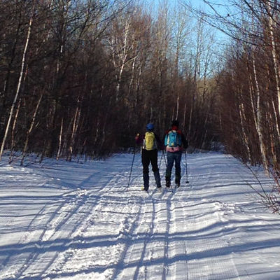 Skiing on the proposed National Park lands